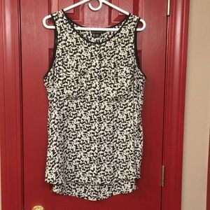 Metaphor, size XL, sleeveless blouse